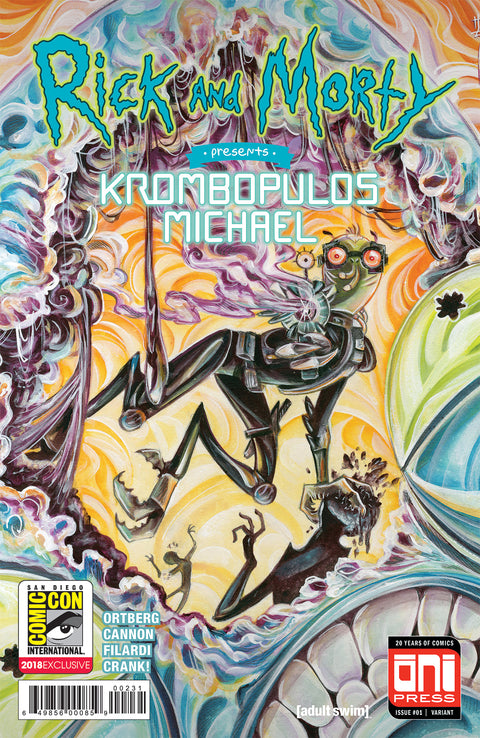 Rick and Morty Presents: Krombopulos Michael #1 - SDCC variant