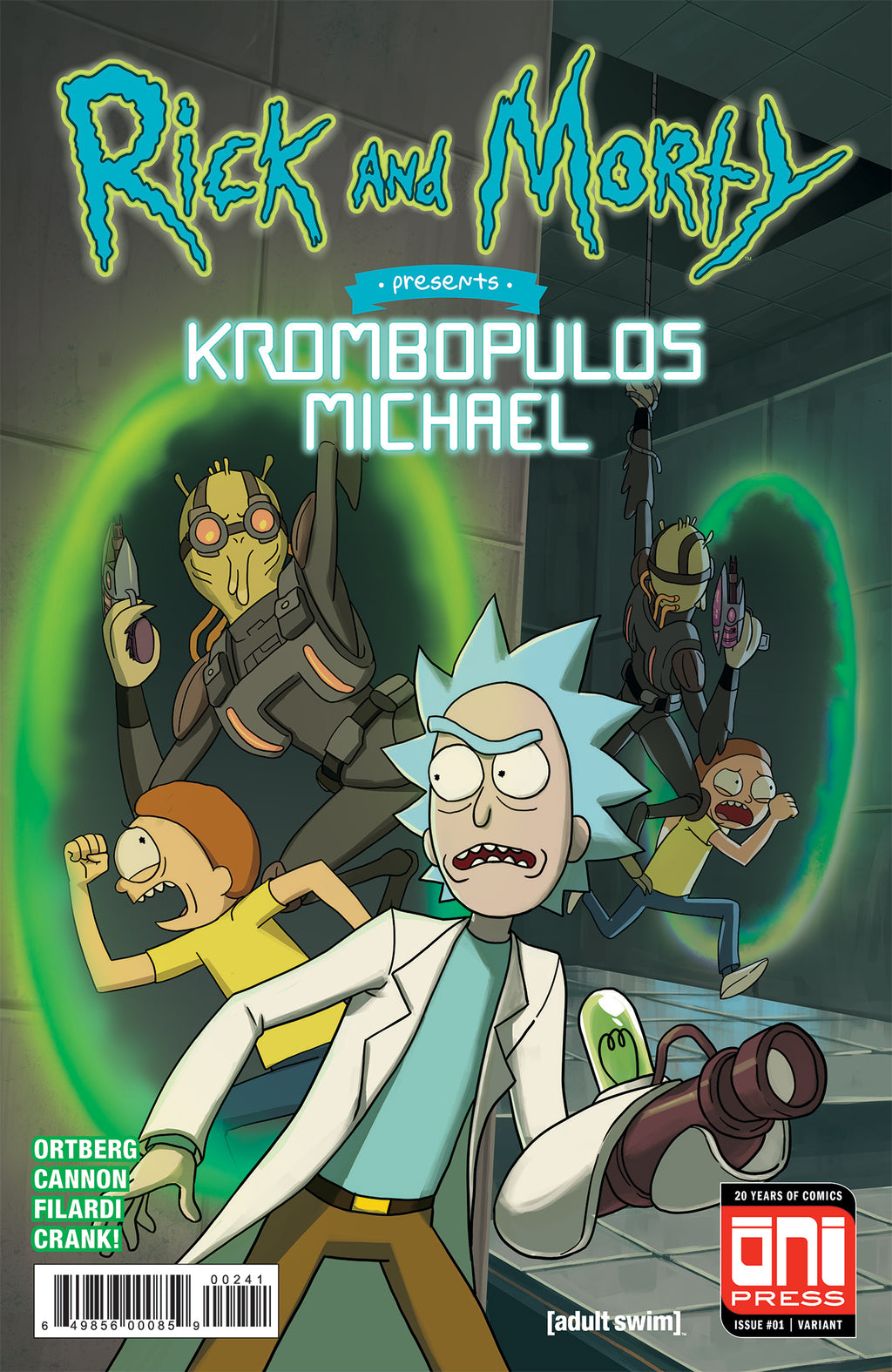 Rick and Morty Presents: Krombopulos Michael #1 - Gaming Convention Variant