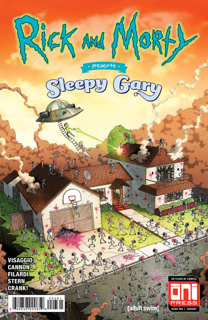 Rick and Morty Presents: Sleepy Gary #1 Oni Limited