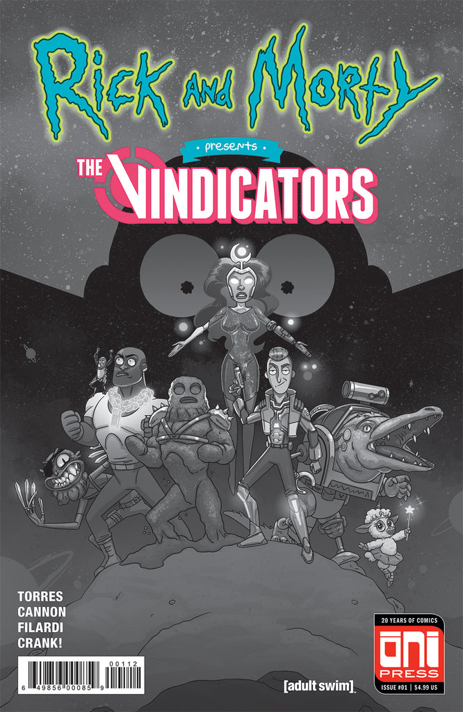 Rick and Morty Presents: The Vindicators #1 2nd printing