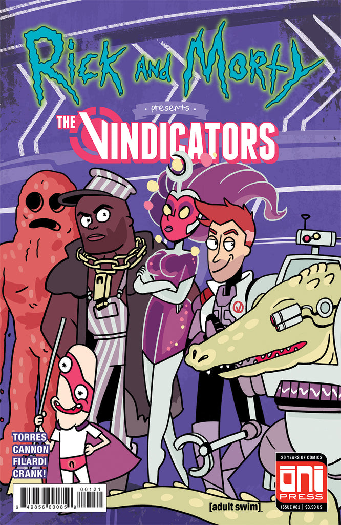 Rick and Morty Presents: The Vindicators #1 Cover B