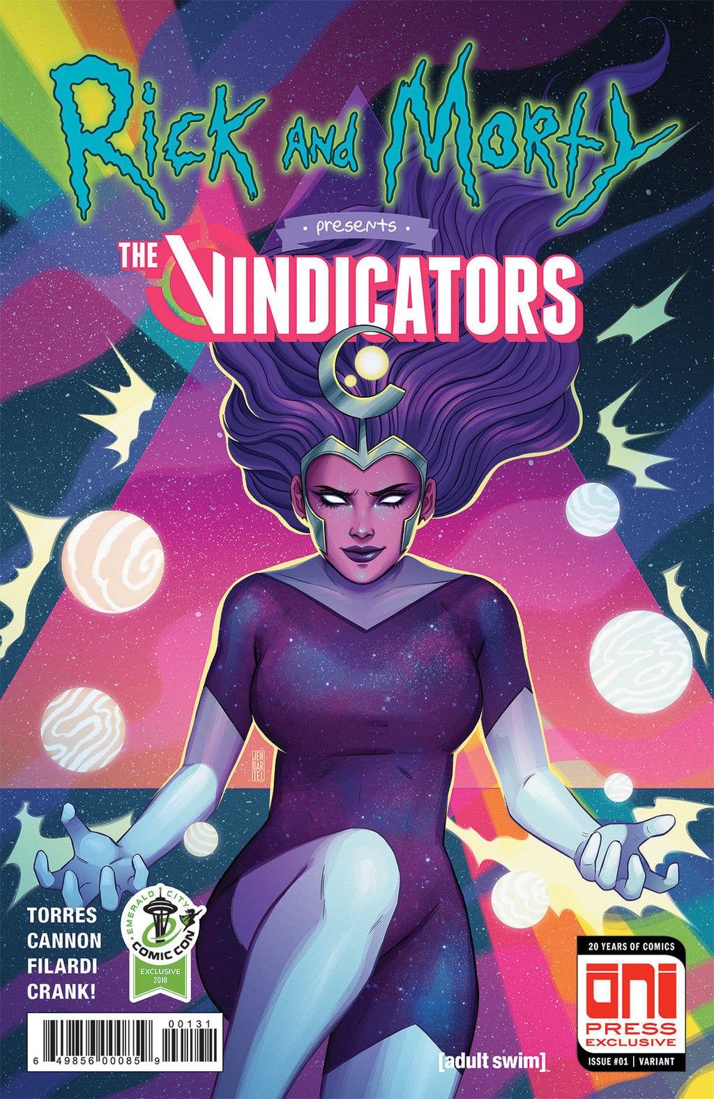 Rick and Morty Presents: The Vindicators #1 ECCC variant