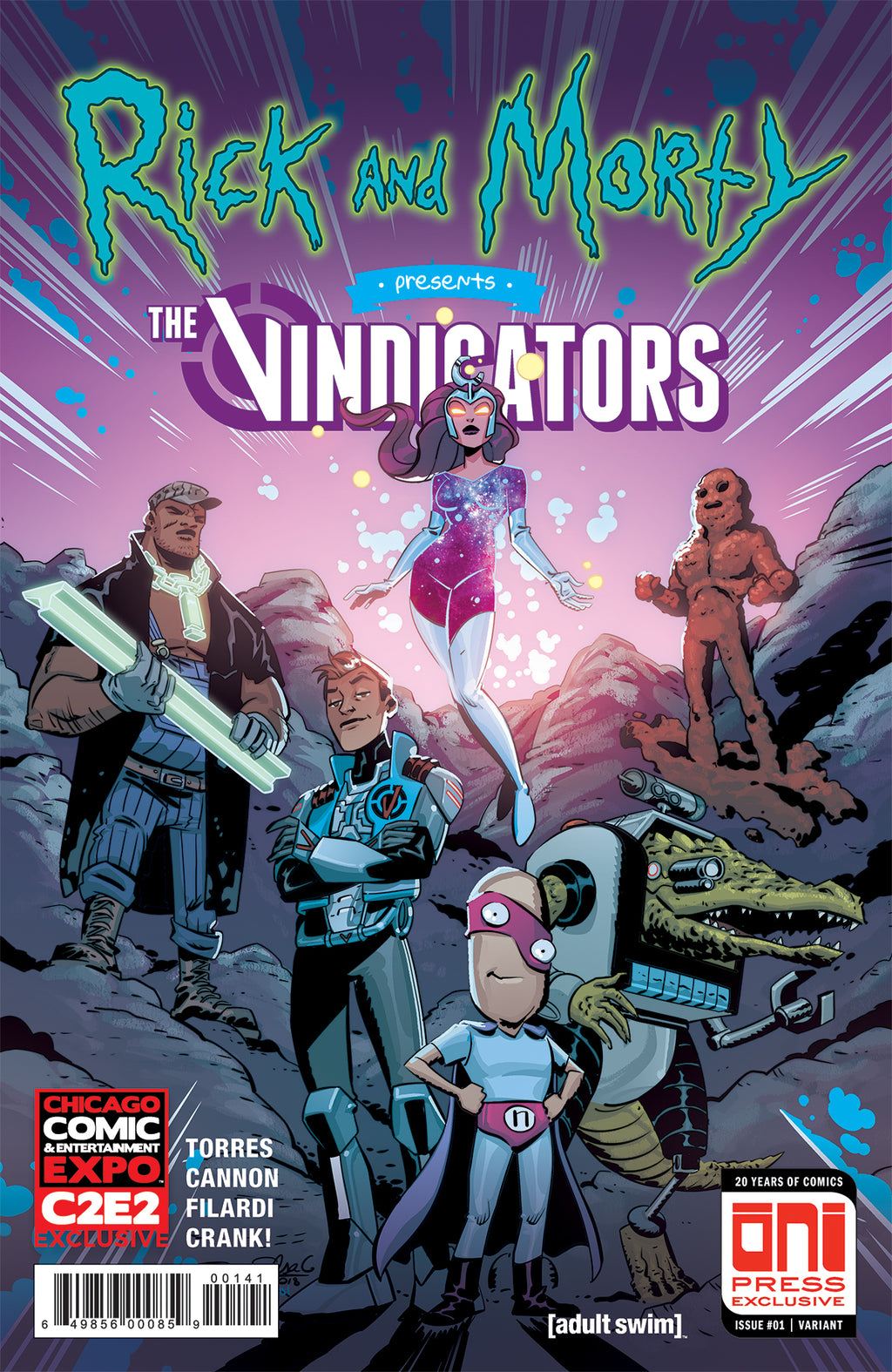 Rick and Morty Presents: The Vindicators #1 C2E2 variant