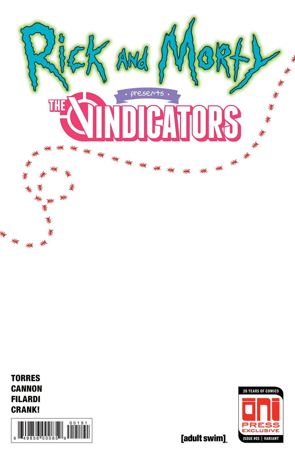 Rick and Morty Presents: The Vindicators #1 Sketch Cover