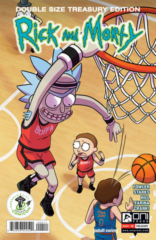 Rick and Morty Treasury Edition #2 - ECCC Variant