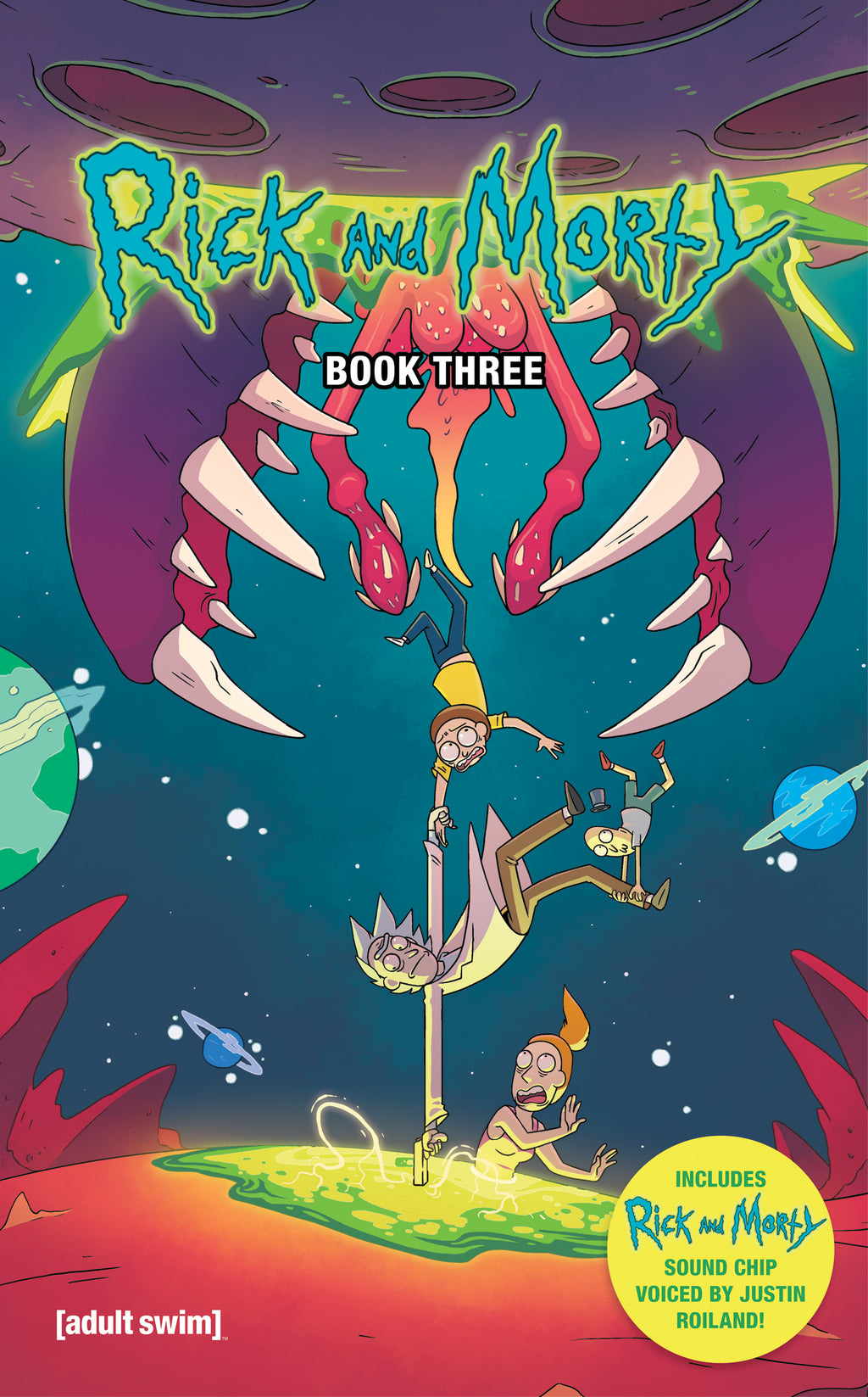 Rick and Morty Hardcover Book 3