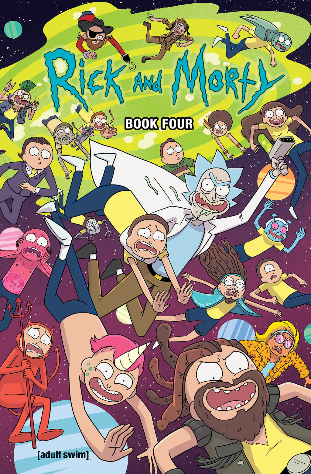Rick and Morty Hardcover Book 4