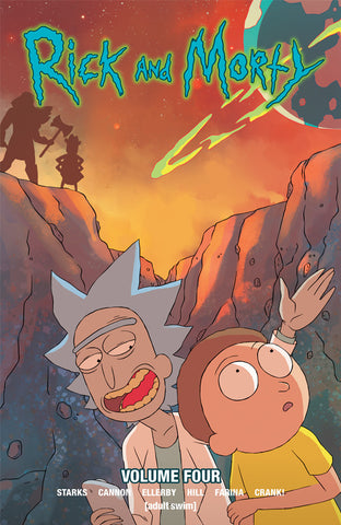 Rick and Morty Volume 4 TPB