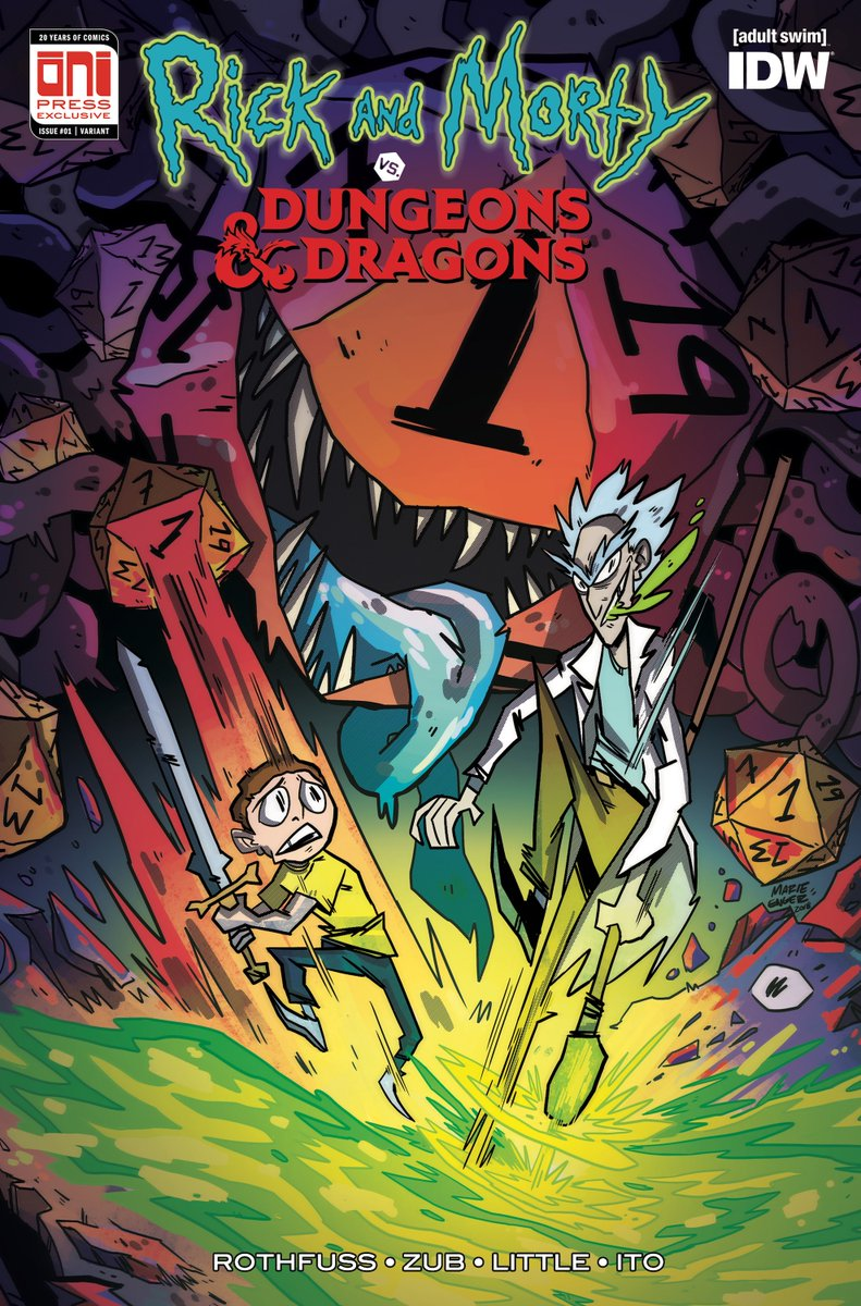 Rick and Morty vs. Dungeons & Dragons #1 Pax West Exclusive