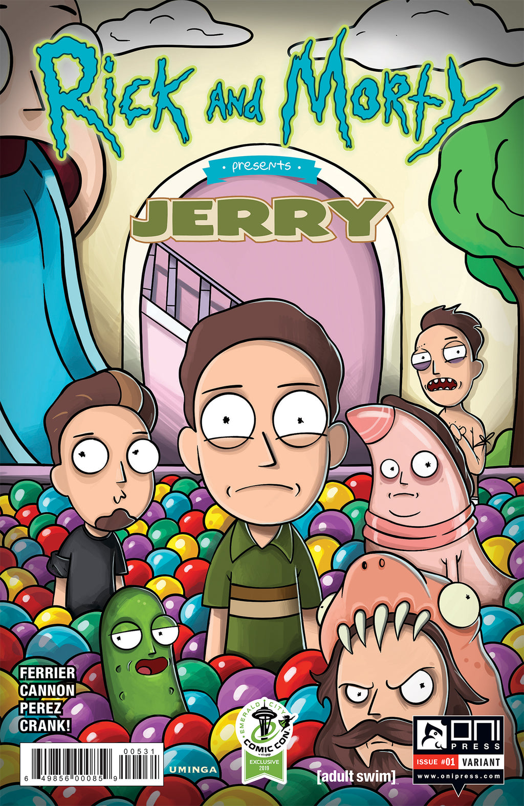 Rick and Morty Presents: Jerry #1 ECCC variant