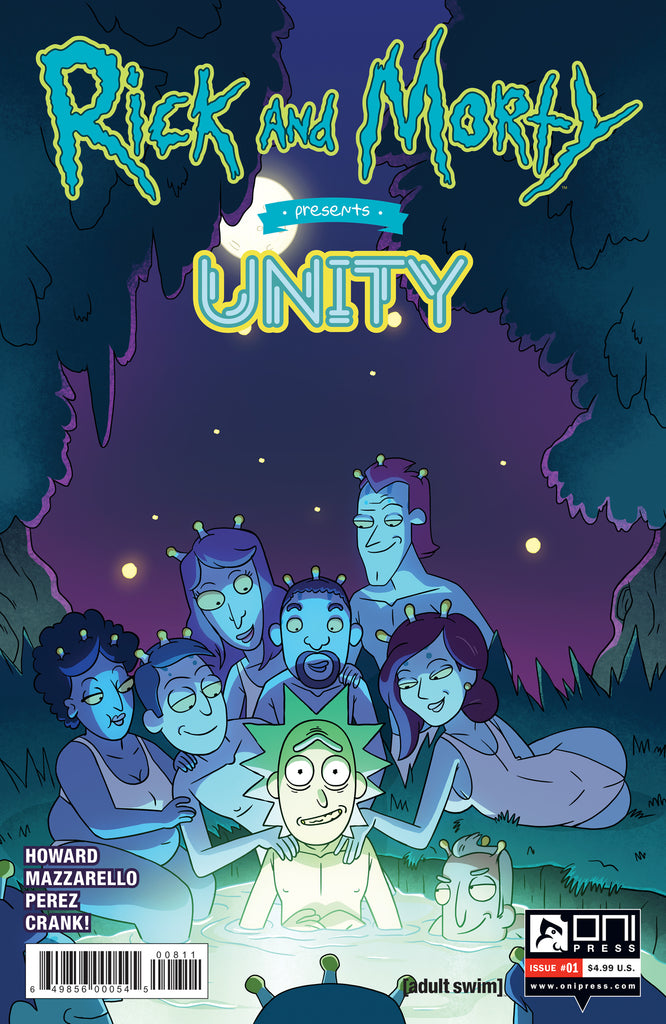 RICK /& MORTY #10 C: 1-0-0 ONI PRESS INC.