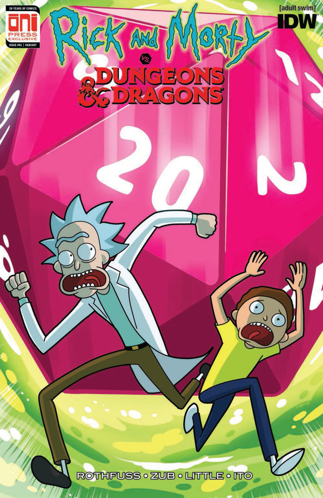 Rick and Morty vs. Dungeons & Dragons #1 Oni Limited