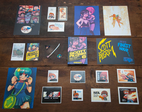 Scott Pilgrim Volume 6 Collector's Edition