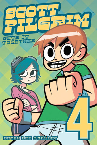 Scott Pilgrim B/W V4 - Scott Pilgrim Gets It Together