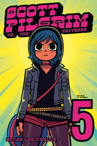 Scott Pilgrim B/W V5 - Scott Pilgrim vs. The Universe