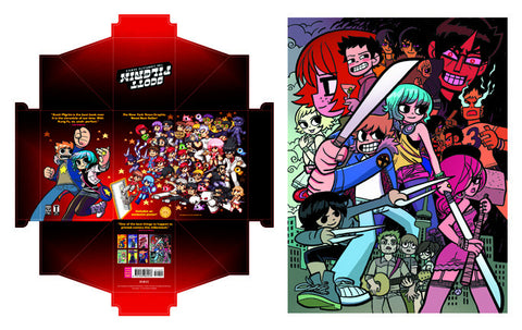 Scott Pilgrim Box Set: The Poster & Box