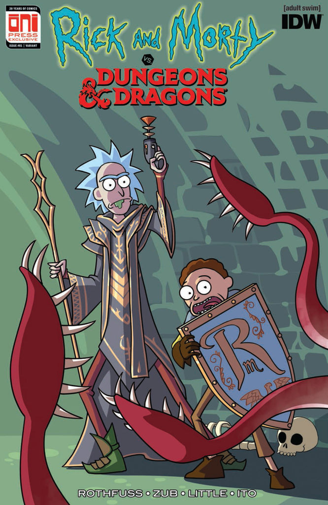Rick and Morty vs. Dungeons & Dragons #1 Pax Unplugged Exclusive