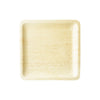 "10"" Square Disposable Bamboo Dinner Plate 8/pk"