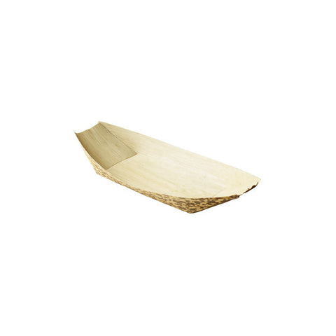 "9.5""  Bamboo Disposable Boat 11 oz"