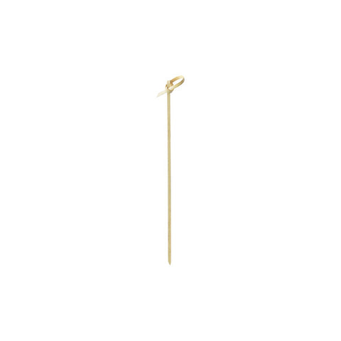 "7"" Looped Bamboo Skewer 100/pk"