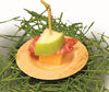 3.5 in Round Bamboo Sheath Appetizer Small Plate (case)