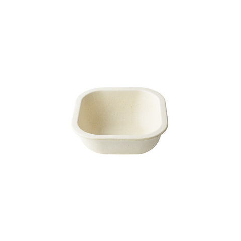 12oz Malibu Bambooware Square Bowl Edge