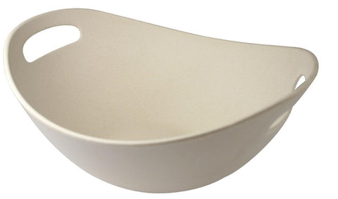 "11"" Double Wall Bambooware Salad Serving Bowl"