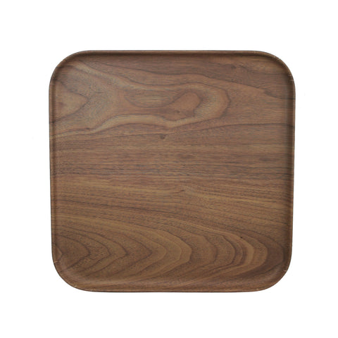 "11.5"" Rectangle Plate Bambooware Lava (Case)"