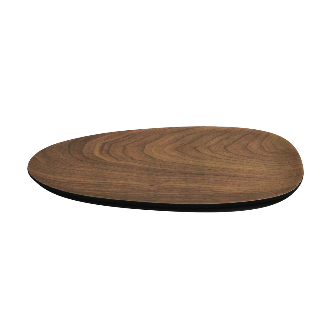 "12"" Oval Plate Bambooware Lava (Case)"