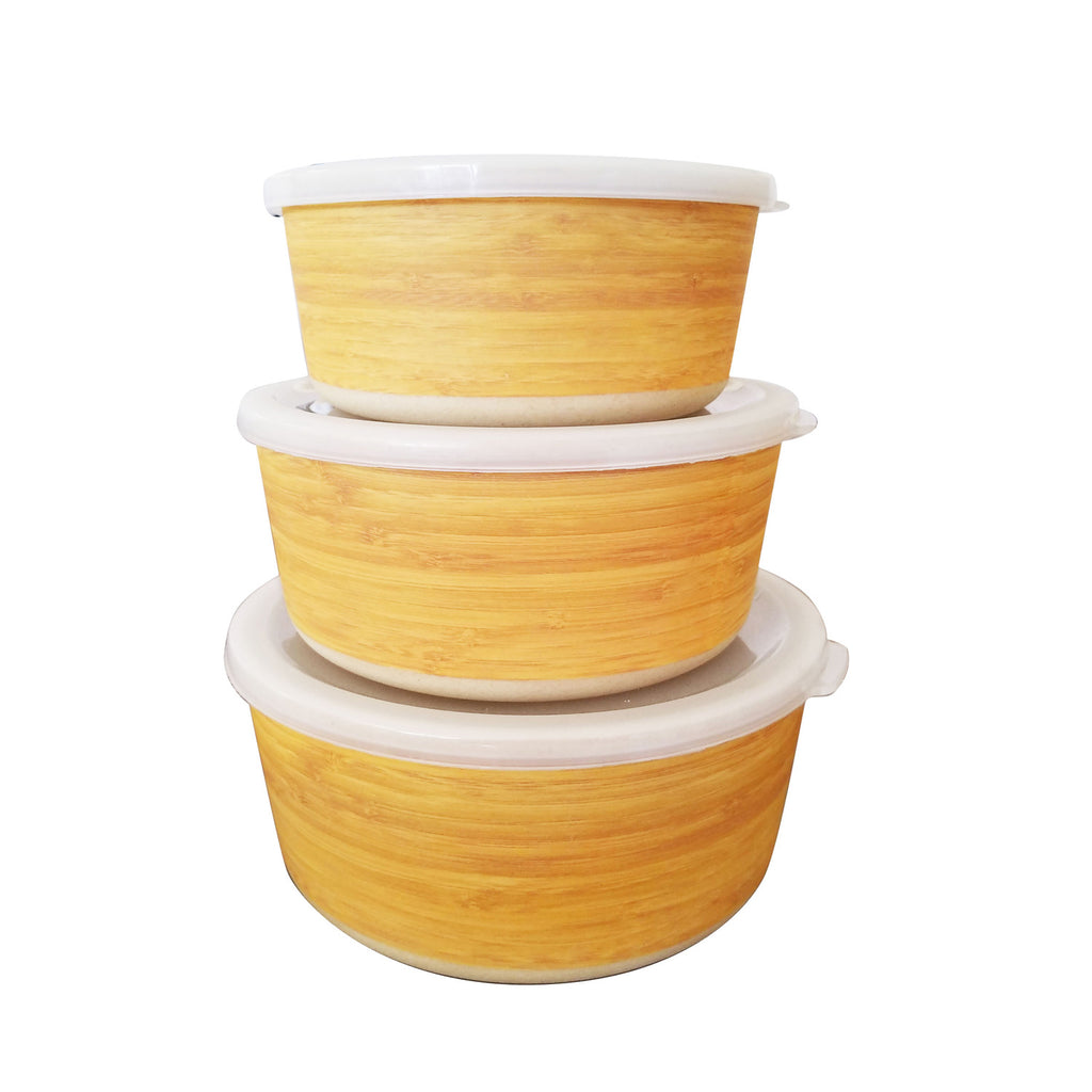 Round Storage Box Set of 3 (Case)