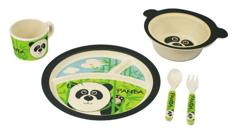 Bamboo Kids Parker The Panda Dinnerware Set
