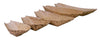 "3.14"" Small disposable Bamboo Boat 24/pk"