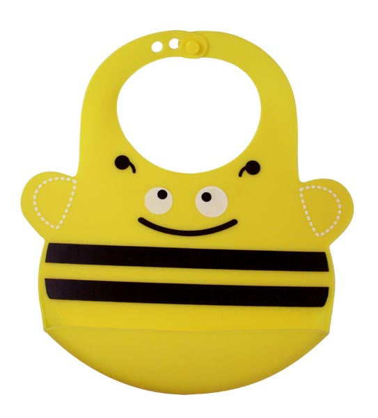 Bamboo Kids Busy the Bee Silicone Baby Bib