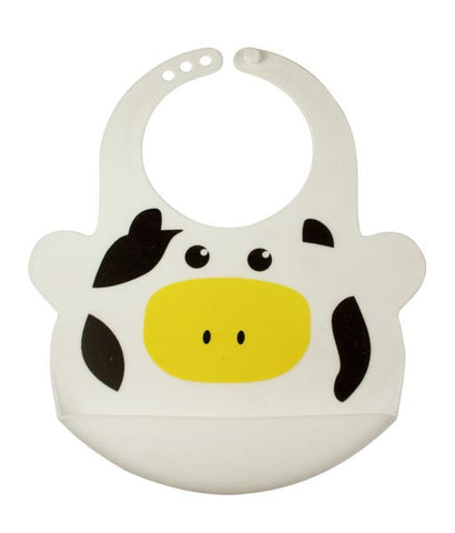Bamboo Kids Bruno the Cow Silicone Baby Bib