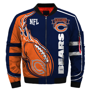 #011 Chicago Bears Jacket - Limited Edition
