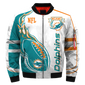 #021 Miami Dolphins Jacket - Limited Edition