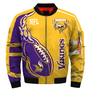 #01 Minnesota Vikings Jacket - Limited Edition