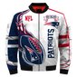 #014 England Patriots Jacket - Limited Edition