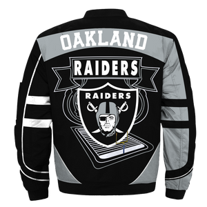 #02 Oakland Raiders Jacket - Limited Edition