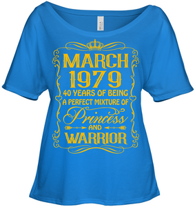March 1979 40 Years Being A Perfect Mixture Princess T Shirts