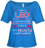 I Am A Leo Girl My Heart On My Sleeve T Shirts