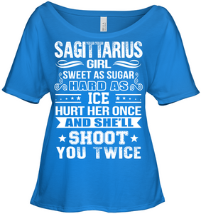 Sagittarius Girl Sweet As Sugar Hard As Ice T Shirts