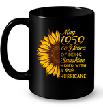 May 1959 60 Years Of Being Awesome Sunflower 2019 T Shirts