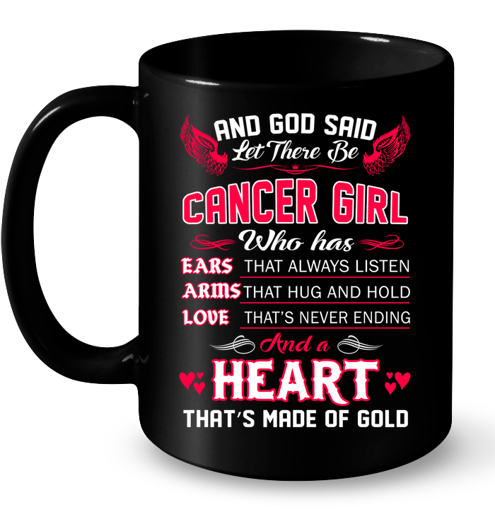And God Said Let There Be Cancer Girl T Shirts