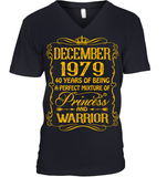 December 1979 40 Years Being A Perfect Mixture Princess T Shirts