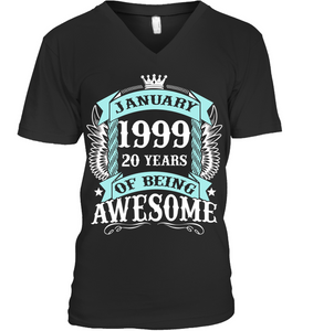 January 1999 20 Years Of Being Awesome Best Seller 2019 T Shirts