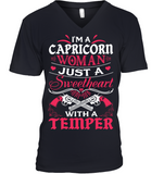 Capricorn Woman Just A Sweetheart T Shirts