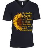 September 1999 20 Years Of Being Awesome Sunflower 2019 T Shirts