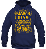 March 1949 70 Years Being A Perfect Mixture Princess T Shirts