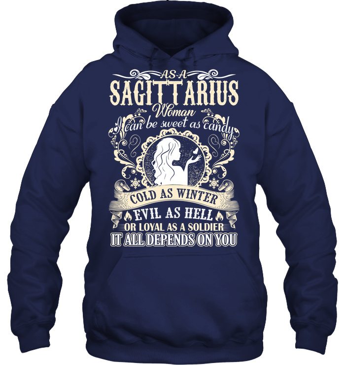 Sagittarius Woman I Can Be Sweet As Candy T Shirts
